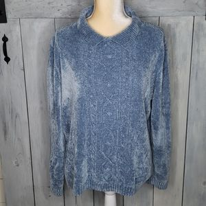 Alfred Dunner Knitted Sweater Size XL